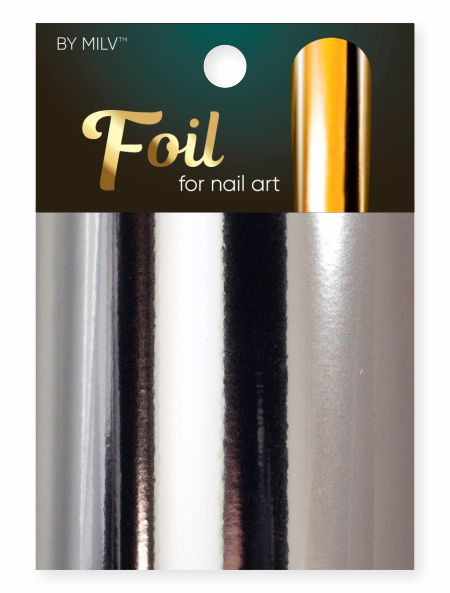 foil for nail art silver 162,5 sm².