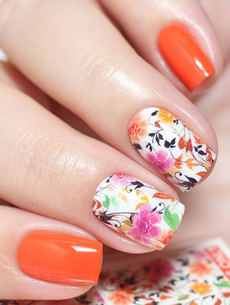 Water decals, nail stickers N 0220 image