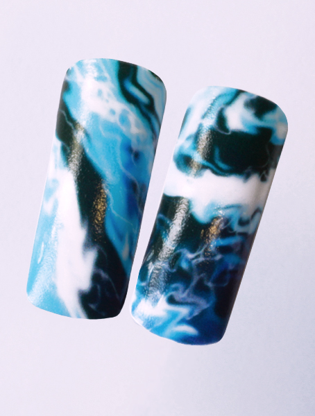 Water decals, nail stickers N 1131 image