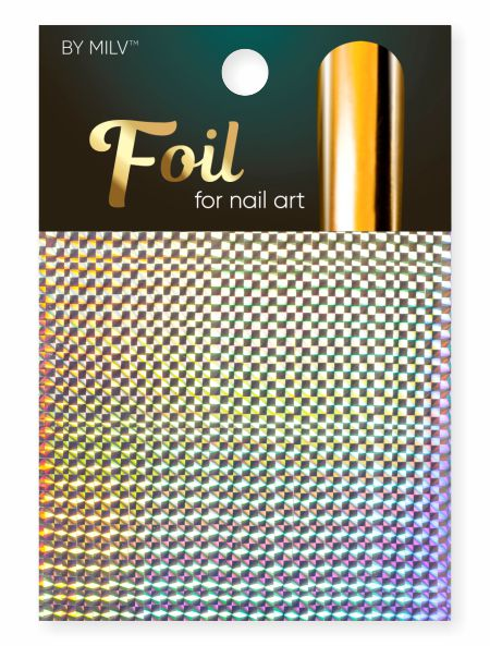foil for nail art holographic 15 162,5 sm².