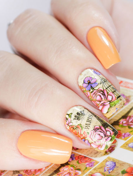 Water decals, nail stickers J 250 image
