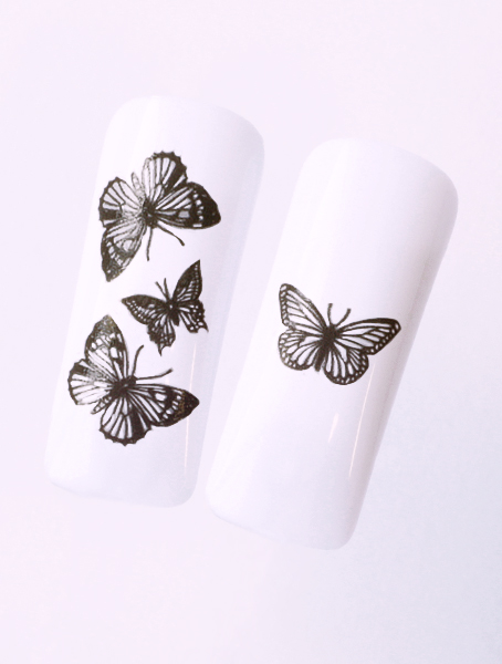 Water decals, nail stickers N 1160 image