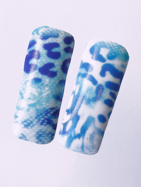 Water decals, nail stickers N 1134 image