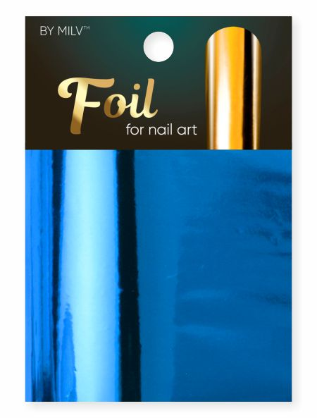 foil for nail art blue 162,5 sm².