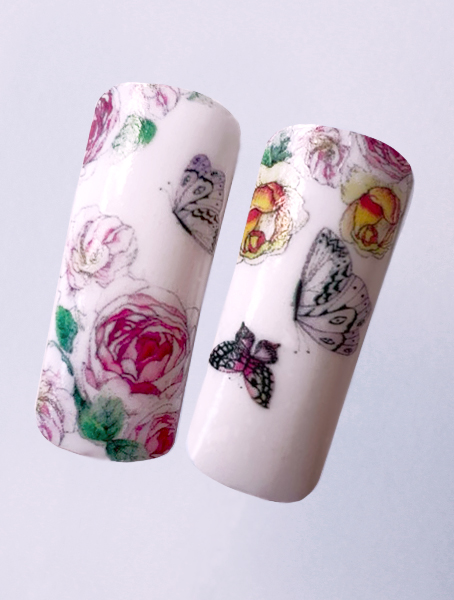 Water decals, nail stickers N 1156 image