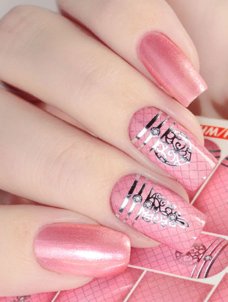 Water decals, nail stickers J 237 image