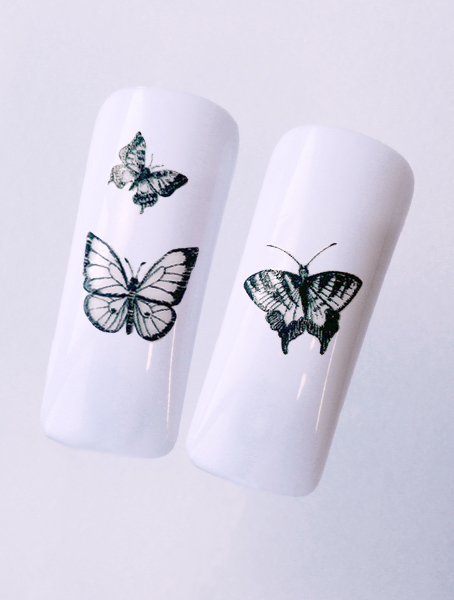 Water decals, nail stickers N 1152 image