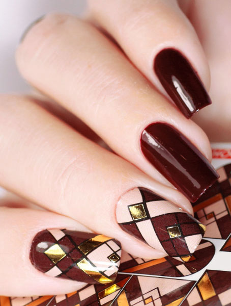 Water decals, nail stickers J 233 image