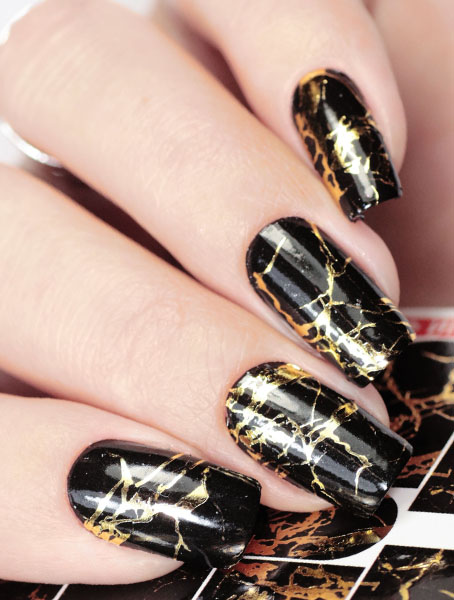Water decals, nail stickers J 227 image