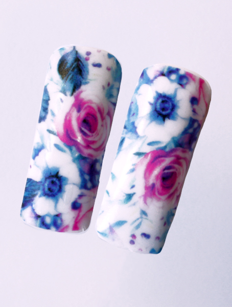 Water decals, nail stickers N 1135 image