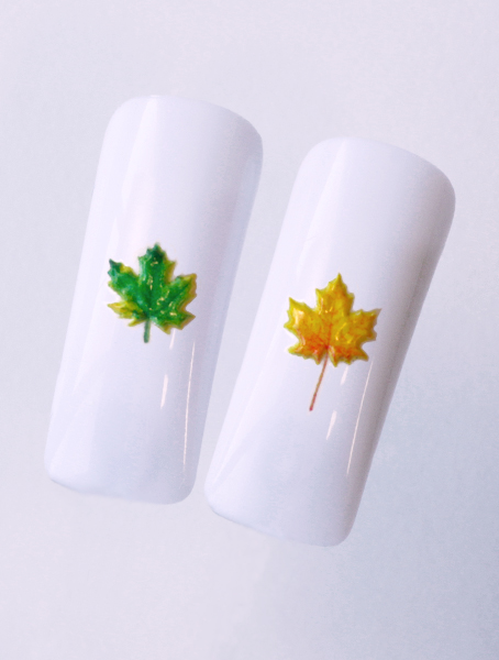Water decals, nail stickers 3D-слайдер B152 image