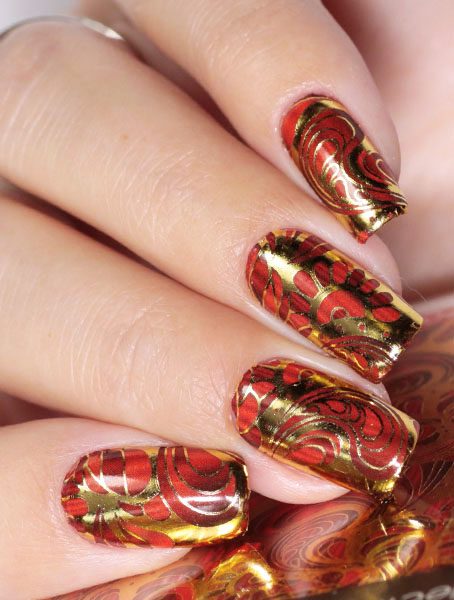 Water decals, nail stickers J 218 image