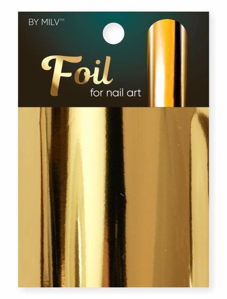 foil for nail art gold 162,5 sm².