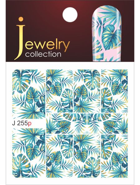 Water decals, nail stickers J 255p