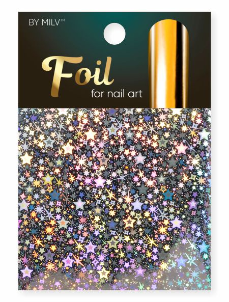 foil for nail art holographic 12 162,5 sm².