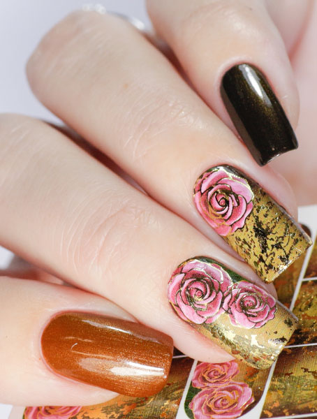 Water decals, nail stickers J 251 image