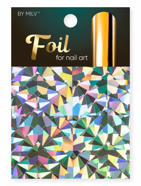 foil for nail art holographic 16 162,5 sm².