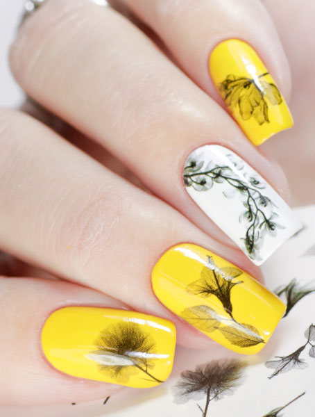 Water decals, nail stickers N 1001 image