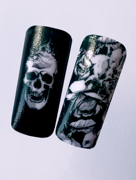 Water decals, nail stickers N 1145 image