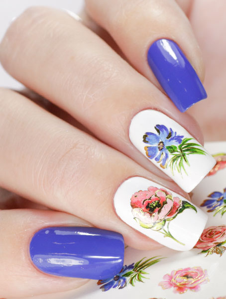 Water decals, nail stickers J 248 p image