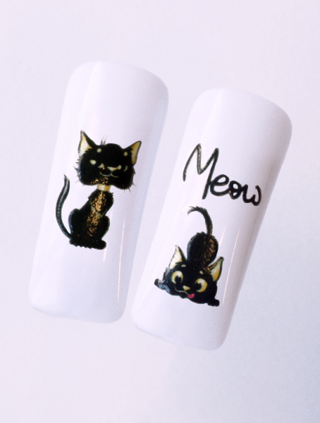 Water decals, nail stickers N 1137 p image