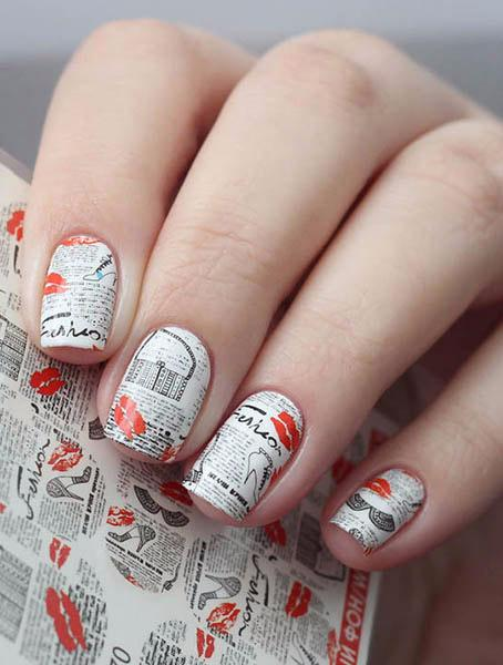 Water decals, nail stickers N 270 image