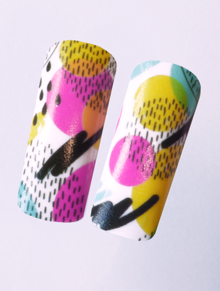 Water decals, nail stickers N 1130 image