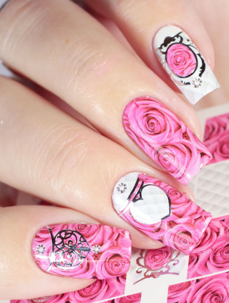 Water decals, nail stickers J 240 image